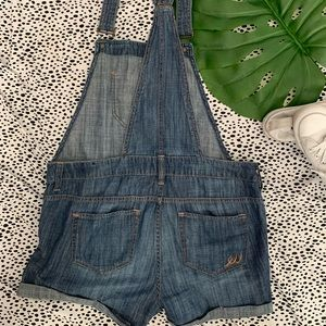 Express Jeans - Express Denim Overall Shorts